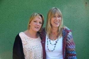 Frau Klau und Frau Hardenberg